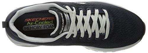 Skechers Skech-Air Extreme-Natson, Scarpe Running Uomo Grigio (Charcoal/grey)