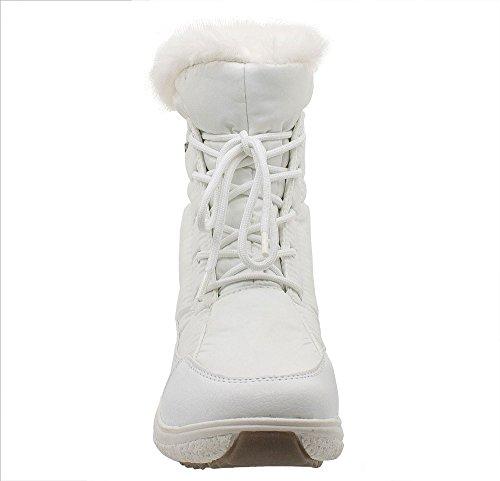 Kefas - Gaiya 3222 - Bottes de neige - Femme Blanc