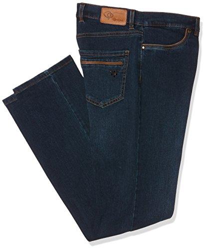 TONI Damen Slim Jeans (Schmales Bein) Belmonte CS Blue (Blue Black Used 592), W34/L29 (Manufacturer Size:42K)