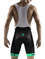 Uglyfrog Bike Wear - Pantalón Corto Para Hombre Bib Shorts with Gel Pad HBS12