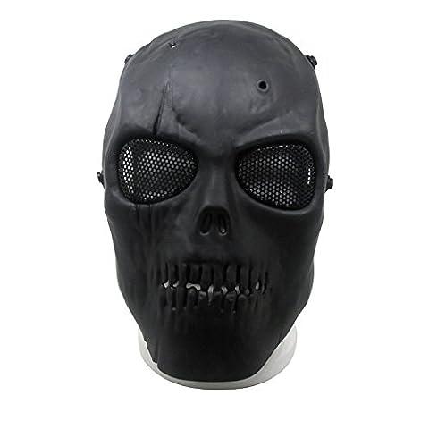 8888mall®CS of skull mask riding movie props field Battlefield Heroes mask mask