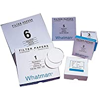 Whatman 1001150 Grade 1 Qualitative Filter Paper Standard, circle, 150 mm (Pack of 100)