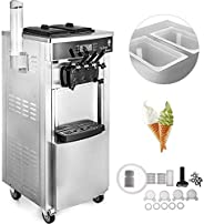 Home Appliances Kitchen Tools 2200W Soft Ice Cream Machine Vertical Soft Ice Cream Maker 5.3 to 7.4 Gallons Pe