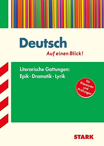 STARK Deutsch - auf einen Blick! Gattungen: Epik, Dramatik und Lyrik