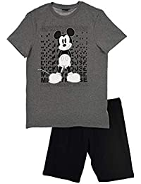 Disney Mickey Mouse Herren Mickey Mouse Schlafanzughose
