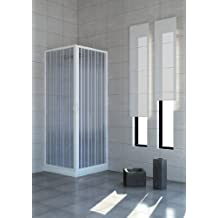 cabina de ducha con puertas plegables u pvc