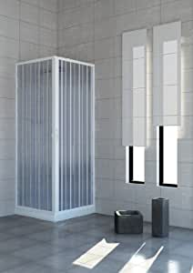 Cabine de douche extensible en pvc 80 x 80 cm for Amazon box doccia 80x80