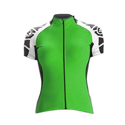 Uglyfrog HNDX02 2018 Neu Damen schlie?en H¨¹lsen Zyklus Jersey Fahrrad Hemd Fahrrad Top Short Sleeve Radsport Kurzarm Radtrikot FahrradTrikot (Scott Vintage-jersey)