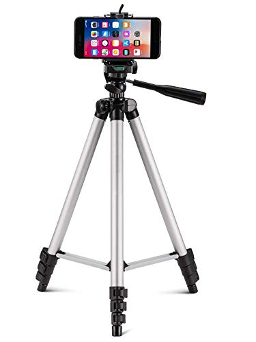 Tripod Stand with Bag by Prosmart | Aluminium Tripod Stand | Adjustable Tripod Stand | Portable and Foldable Tripod Stand...