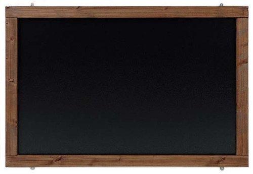 Rustikale Tafel Kreidetafel Wandtafel Küchentafel mit Holzrahmen zur Beschriftung mit Kreide im Landhausstil 120x60cm Kolonialfarben