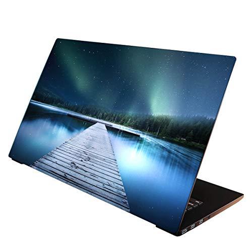 OneWheel / Folie Sticker Aufkleber Skin Schutzfolie für Notebook Laptop (Sterne, 15-17 Zoll)