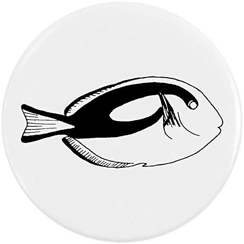 Azeeda 58mm 'Tropischer Fisch' Pin Knopf-Abzeichen (BB00039507) -