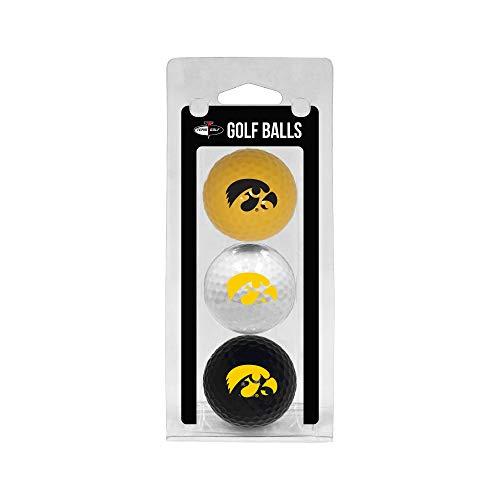 Team Golf NCAA Golfbälle, reguläre Größe, langlebig, 3 Stück, Sport und Fitness, Iowa Hawkeyes, Einheitsgröße