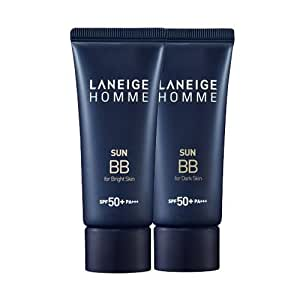 Korea Cosmetics 2014 New Advanced!! Laneige Homme Sun BB Cream (SPF50+/PA+++) - #Dark skin