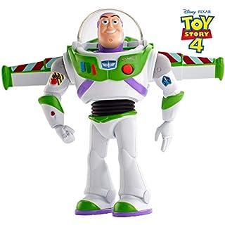 Toy Story 4 Super Action Buzz Lightyear, 17 cm, Deutsche Sprachversion