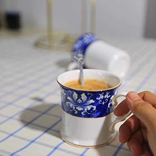 Ggsmd mak tazza blu e bianco porcellana in ceramica colorati mak cup neoclassic la coppa delle ossa di porcellana,un