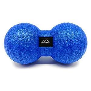 MIGHTY PEAKS Faszienrolle Set [3 Teilig] Faszienball Schaumstoffrolle Massageball Massagerolle zur Selbstmassage der Wirbelsäule, Fascien, Fußmassage, Muskel-, Bindegewebe, Faszien-Training Set