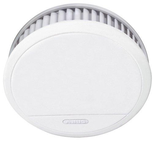 ABUS Rauchmelder RM20 Brandmelder mit Hitzewarnfunktion | geeignet für Küche und Schlafzimmer | 12...
