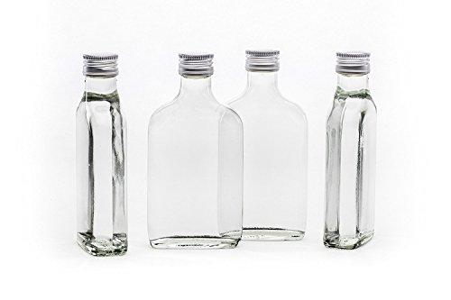 20 x 200ml tashi piccolo bottiglia di vetro