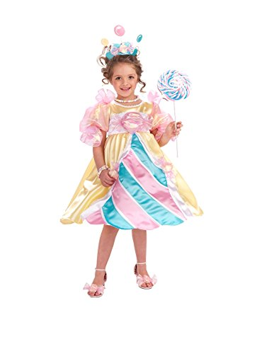 NLP Deluxe Candy Prinzessin Kostüm (Deluxe Prinzessin Kind Kostüme)