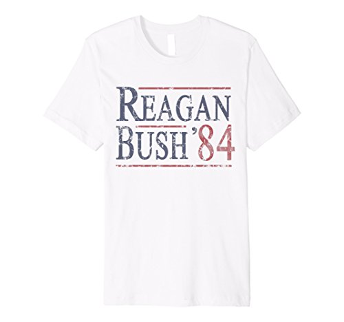 Reagan Bush 84 T Shirt -