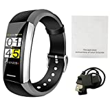 Là Vestmon V1 Smartwatch Orologio Intelligente, Bluetooth 4.0 Fitness Tracker, Bracciale Fitness...