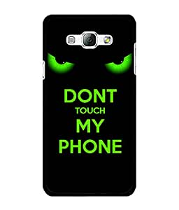 SAMSUNG A8 Printed Cover By aadia