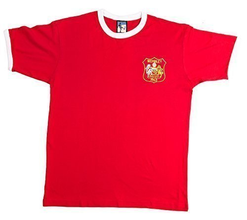 Retro Manchester United 1963 Football T Shirt New Sizes S-XXL Embroidered Logo