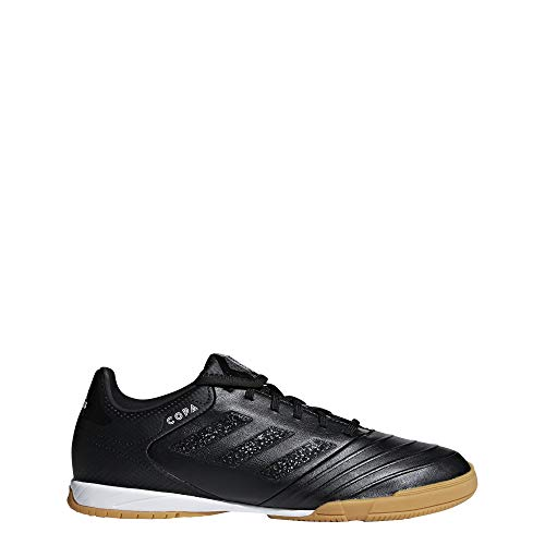 adidas Copa Tango 18.3 in, Scarpe da Calcetto Indoor Uomo, Nero Ftwbla/Negbás 000, 48 EU