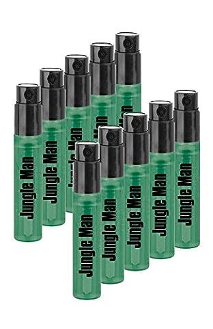 LR Jungle Man Eau de Parfum Mini en vaporisateur Mini Vaporisateur Lot de 10