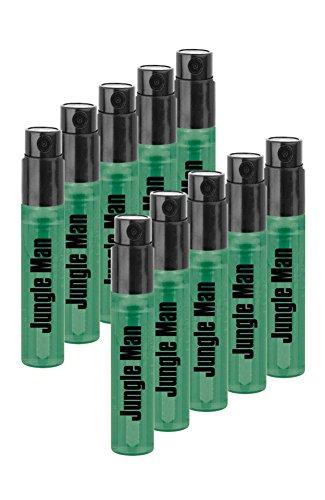LR Jungle Man Eau de Parfum Mini Vapo Mini Sprühflasche 10er-Pack -