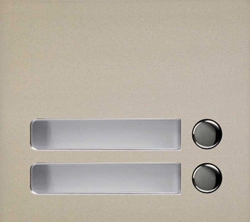 Aiphone GF-2P Two Call Button Panel for the GF and GT Series Modular Multi-Tenant Entry Security System by Aiphone Aiphone-panel