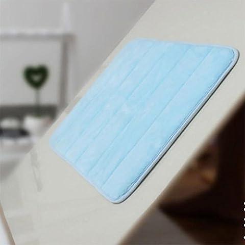 GUO-tappeto da bagno più spesso lento rimbalzo resistente all'acqua - non - slip soggiorno camera da letto mat cucina piano tappetini in moquette , 50 * 80cm