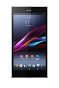 Sony Xperia Z Ultra Smartphone (16,3 cm (6,4 Zoll) Full-HD-TRILUMINOS-Display mit X-Reality, 8 Megapixel Kamera, 2,2GHz, Quad-Core, Snapdragon 800, 2GB RAM, IP55/IP58-Zertifizierung, Android 4.2) weiß
