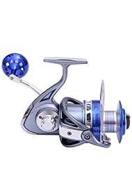 Carrete de la pesca Carretes para pesca spinning 4.7:1 9 Rodamientos de bolas IntercambiablePesca de Mar / Pesca al spinning / Pesca
