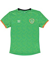 Umbro Kinder Jungen Irland Tournament Trikot Fussball Training Shirt Kurzarm