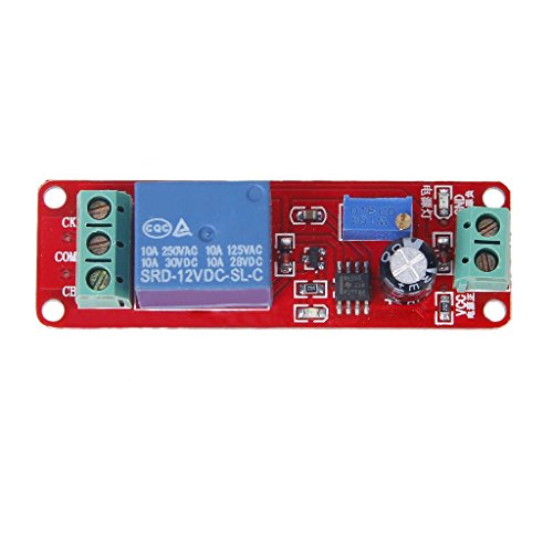 12v Ac Time-delay Relay (SODIAL(R) Oscillator Zeitverzoegerung Modul Delay Timer Monostable Schalter)