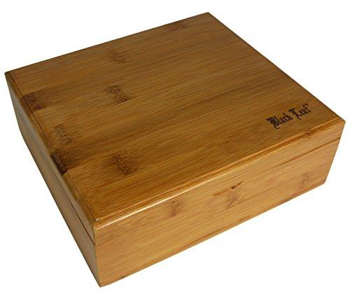 BL Stoner Box II Holzbox Kiste Aufbewahrung Kräuter Drehbox Blättchenfach Pollensieb