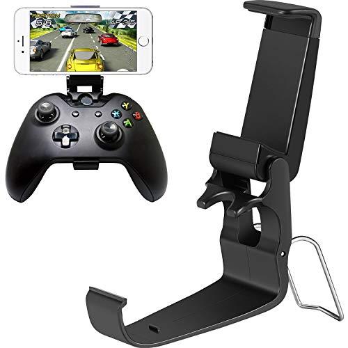 Jovitec 2 Pièces Contrôleur Clip Mobile Phone Pliable en Plastique Pince de Jeu pour Smartphone pour Contrôleur Xbox One