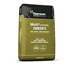 Hanson Multi Purpose Concrete Easy to Use Just Add Water