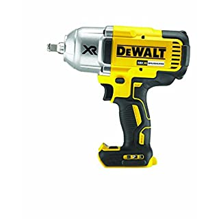 Dewalt DCF899HN-XJ Cordless Brushless High Torque Impact Wrench, 18 V, Yellow/Black