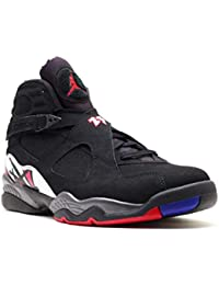 online store 96f45 88c35 Nike - Air Jordan 8 - Coleur  Blanc-Noir-Rouge - Taille