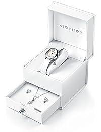 Reloj Viceroy Niña Comunión 40882-05 Conjunto Plata de Ley