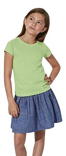 Maratus Mädchen Bio T-Shirt aus Baumwolle 134-146 / schwarz