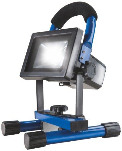 as - Schwabe Chip-LED-Akku-Strahler 10 W, geeignet für Außenbereich, Gewerbe, blau, 46971 (Chip-magnete)