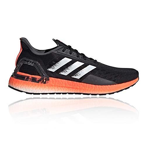 adidas Ultraboost PB Scarpa da Corsa Running Jogging su Strada o Sterrato Leggero con Appoggio Neutro per Uomo Nero Rosso 42 EU