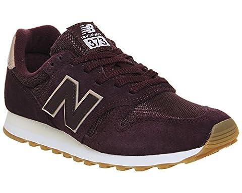 New Balance , Damen Sneaker, rot - Burgundy Metallic Rose