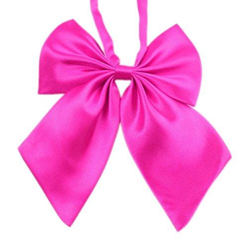 Harry Potter Kleiderschrank (Krawatten Damen Bowknot SOMESUN Uniformen Cosplay Einfarbig Student Maedchen Arbeiten Fliege Bowknot Krawatten (Pink))