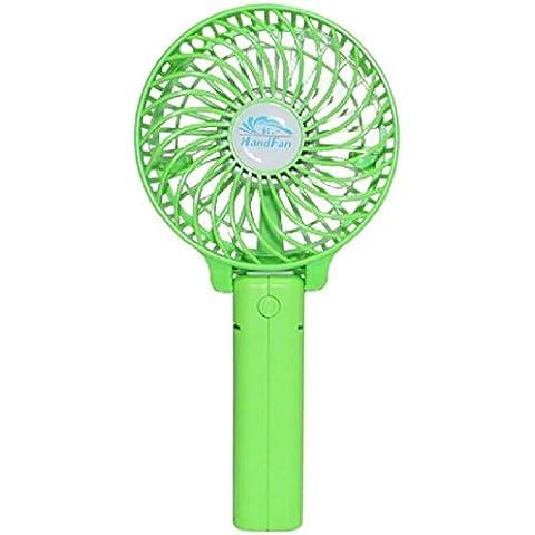 Ambielly mano Fan ricaricabile portatile tenuto in mano mini ventilatori