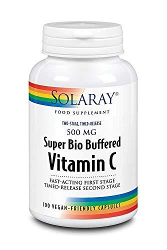 Solaray   TSTR Super Bio Buffered Vitamin C   1 x 100vegicaps (DE)